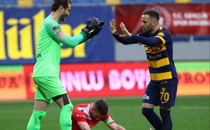 Ankara takımları Süper Lig'in 32. haftasını galibiyetle tamamladı