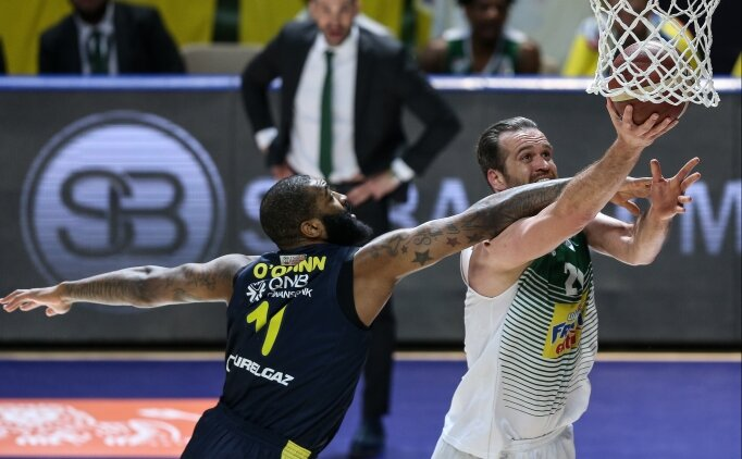 Fenerbahçe Beko, Frutti Extra Bursaspor'a mağlup oldu