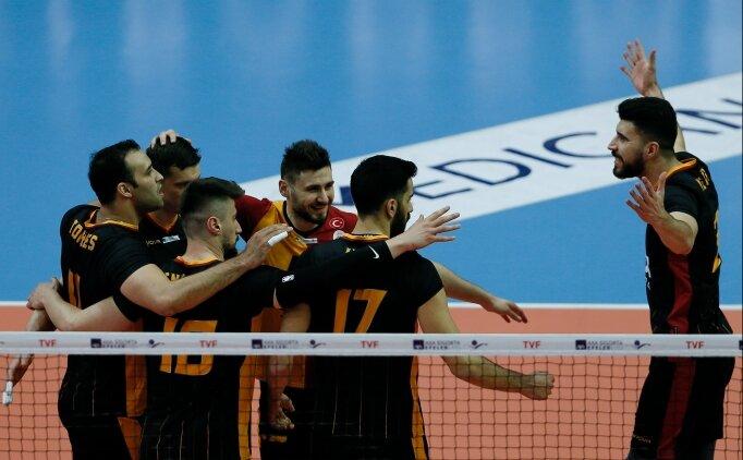 Galatasaray HDI Sigorta, seride 1-0 öne geçti!