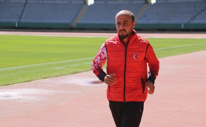 Şanlıurfalı milli atlet Hüseyin Can, olimpiyat hedefi için ter döküyor!