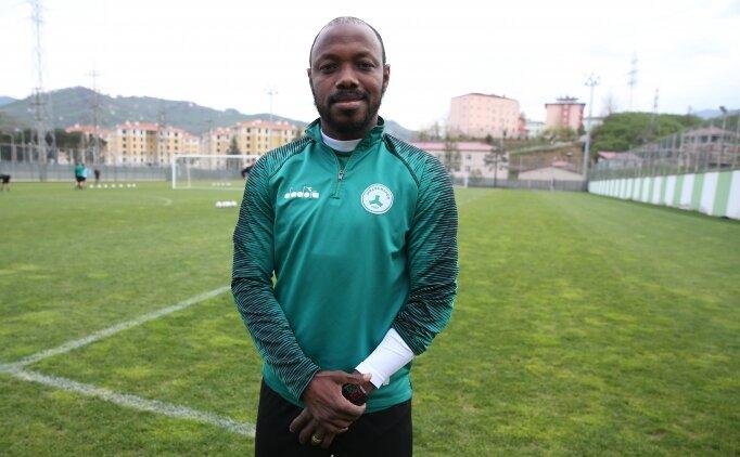 Giresunsporlu Traore ve Nalepa'dan Süper Lig açıklaması