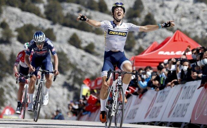 Cumhurbaşkanlığı Türkiye Bisiklet Turu'nda 5. etabı Jose Manuel Diaz Gallego kazandı
