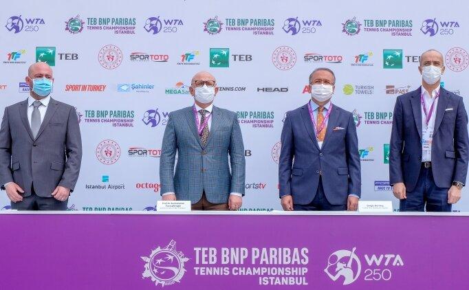 TEB BNP Paribas Tennis Championship İstanbul için geri sayım