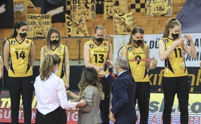 VakıfBanklı voleybolcular gözünü Şampiyonlar Ligi finaline çevirdi