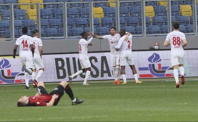 Sivasspor'un 12 maçtır bileği bükülmüyor!