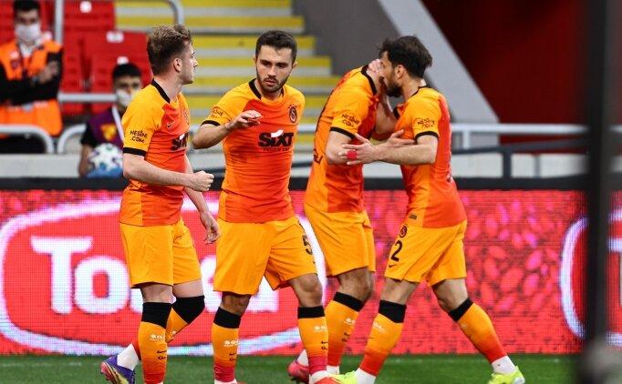 Galatasaray, makus talihini de yendi
