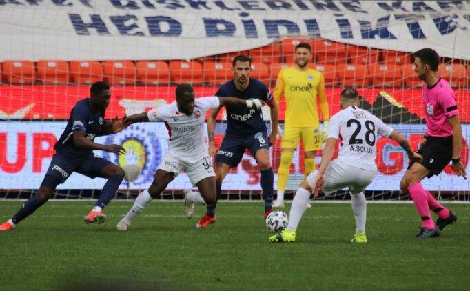 Gaziantep FK, Kasımpaşa maçında geri döndü!