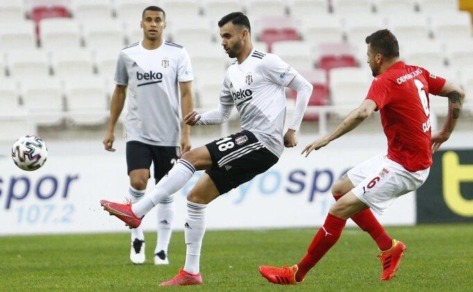 Beşiktaş'tan bir kayıp daha! Sivasspor'a takıldı
