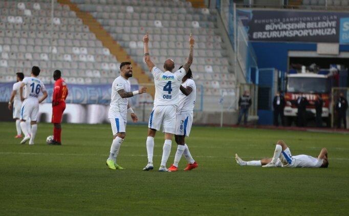 Erzurum'da 90+6'da hayati gol!