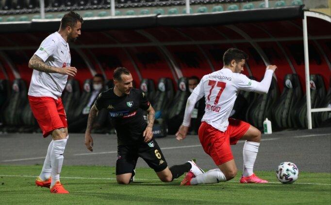 Denizlispor'da umutlar 1-1 eriyor!