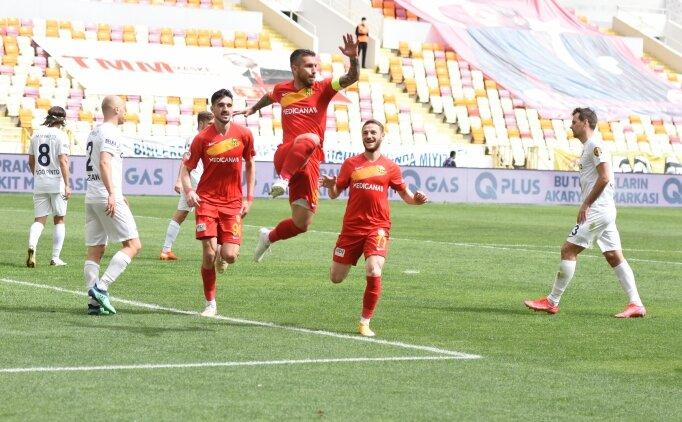 Yeni Malatyaspor, Ankaragücü'nün serisini bitirdi