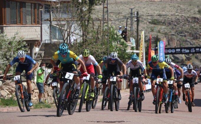 Kayseri'de Mount Erciyes High Altitude MTB CUP XCO C2 yarışı yapıldı