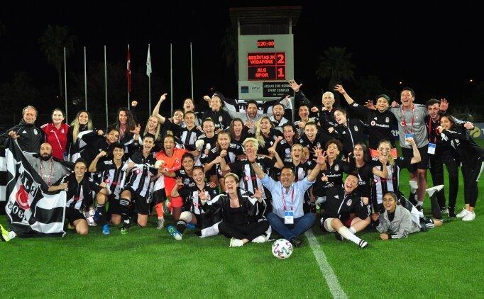 Beşiktaş kadınlarda finale yükseldi