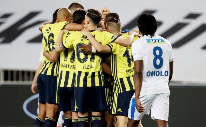 Fenerbahçe çabuk bitirdi, takibe devam etti!