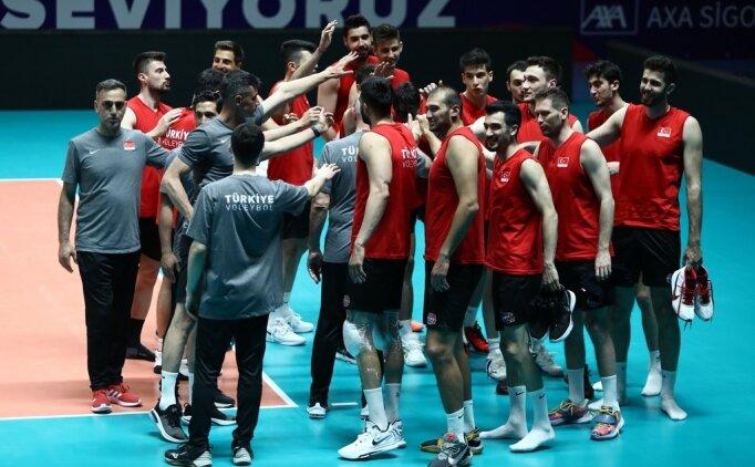 A Milli Erkek Voleybol Takımı'nda CEV Avrupa Altın Ligi hazırlıkları
