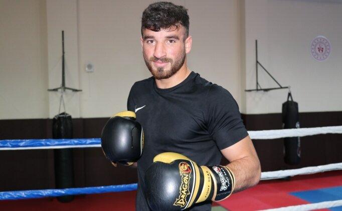 Kick boksta Avrupa şampiyonu olan İslam Ucan'ın gözü dünya şampiyonluğunda