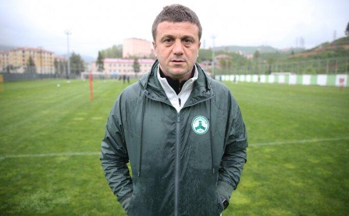 Giresunspor, teknik direktör Hakan Keleş ile devam edecek