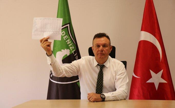 Denizlispor Başkanı Ali Çetin, yeniden aday olmayacağını açıkladı!