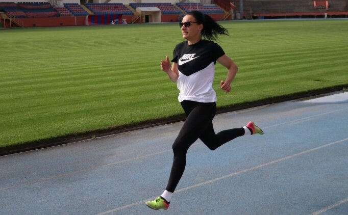 Koronavirüsü atlatan milli atlet Melike Malkoç yeni başarılar peşinde