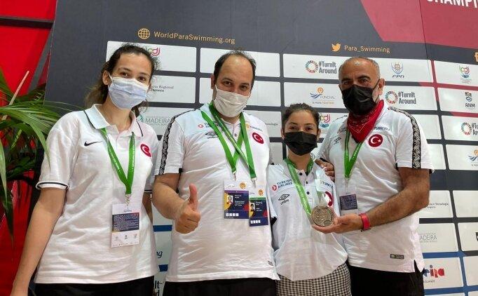 Sevilay Öztürk'ten bronz madalya geldi