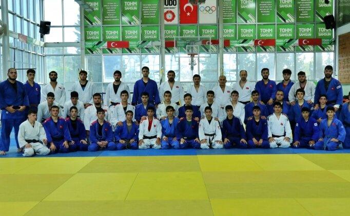 Erkek Judo Ümit Milli Takımı, Avrupa Şampiyonası hazırlıklarını sürdürüyor