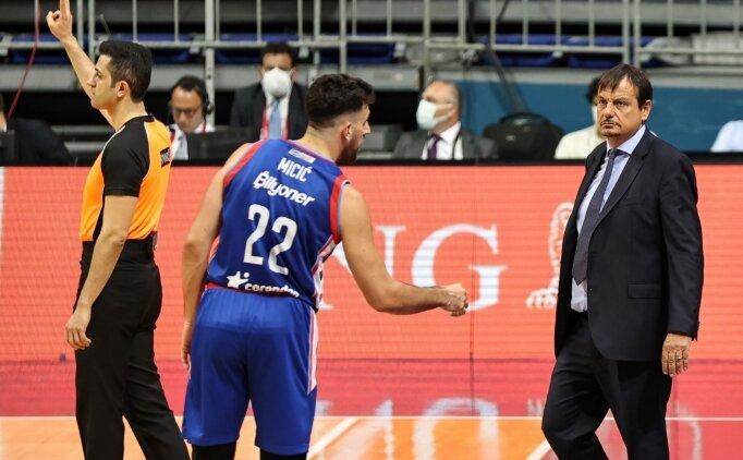 Ergin Ataman'dan şampiyonluk açıklaması