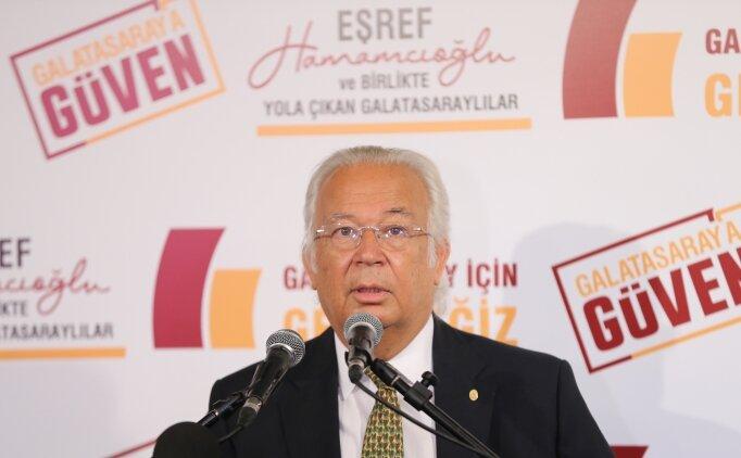 Eşref Hamamcıoğlu'nun ilk tercihi Fatih Terim