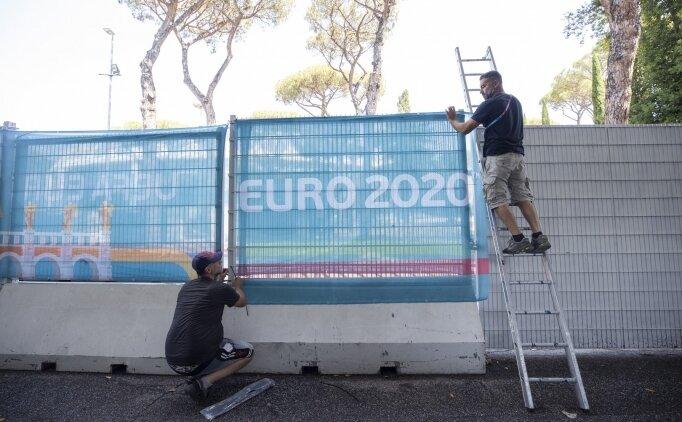 Açılış maçı öncesi Roma'da son hazırlıklar