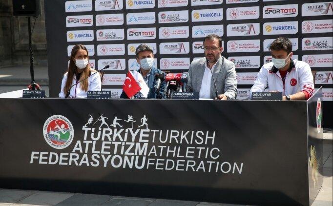 TAF Başkanı Fatih Çintimar: 'Bugün yine Türkiye rekorları çıkacak'