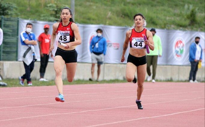 Sprint Relay Cup ile Balkan Bayrak Şampiyonası Erzurum'da başladı
