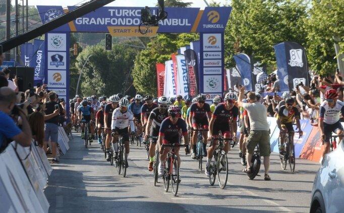 Turkcell GranFondo İstanbul Yol Bisiklet Yarışı başladı