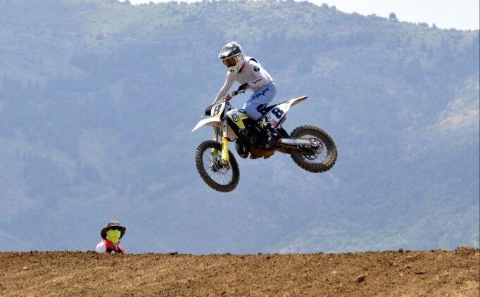Afyonkarahisar'daki motokros şampiyonalarının final yarışları başladı