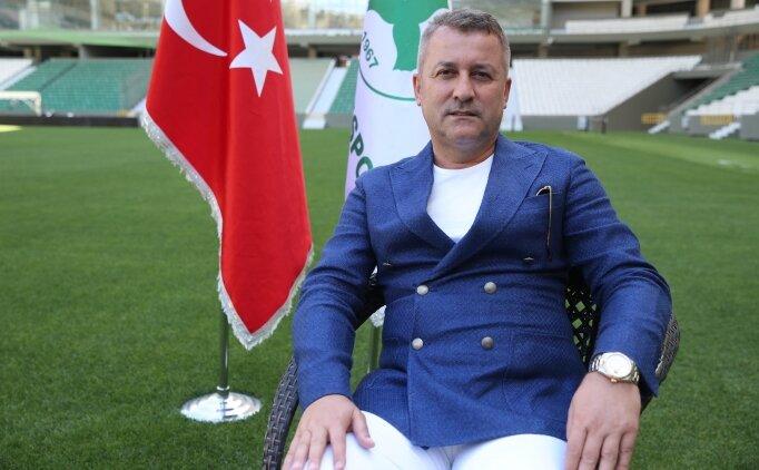 Giresunspor'un hedefi Süper Lig'de kalıcı olmak