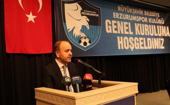 BB Erzurumspor başkanlığına Ömer Düzgün yeniden seçildi