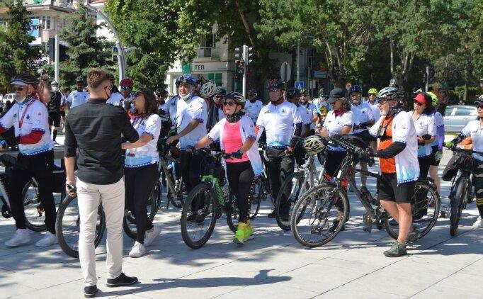 Afyonkarahisar'da Frigya Bisiklet Festivali başladı