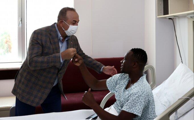 Dışişleri Bakanı Mevlüt Çavuşoğlu, Babacar'ı ziyaret etti