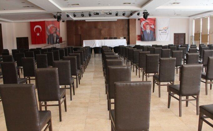 Hatayspor Kulübünde olağan genel kurul 16 Temmuz'a ertelendi