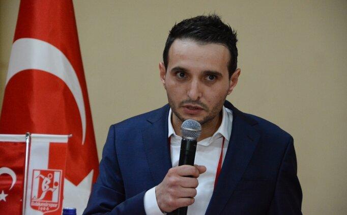Balıkesirspor Başkanı Özgür Yılmaz'dan 'sahte hesap' uyarısı