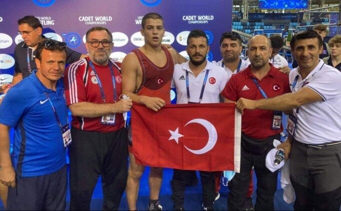 Rıfat Eren dünya şampiyonu!