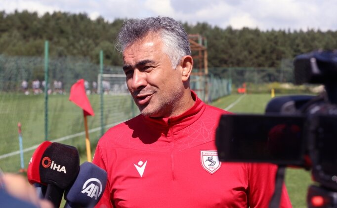 Mehmet Altıparmak: 'Tek amacımız Samsunspor'u Süper Lig'e çıkarmak'