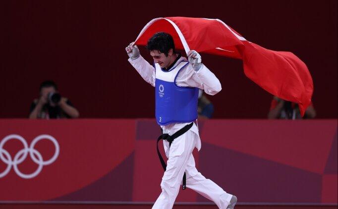 Tokyo 2020'de ilk madalya: Tebrikler Hakan Reçber