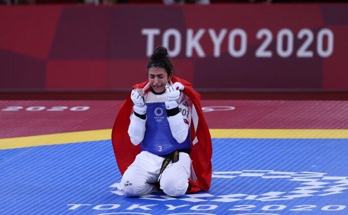 Tokyo 2020'de ikinci madalya: Tebrikler Hatice Kübra