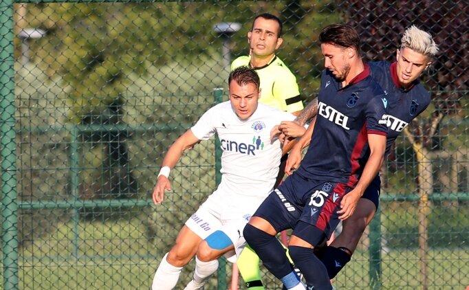 Trabzonspor'da sakatlığı bulunan Trondsen'in tedavisine başlandı
