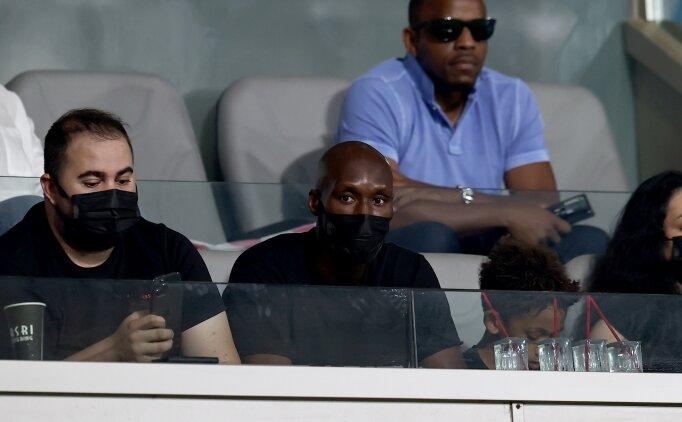 Atiba Hutchinson, Galatasaray - PSV maçını izledi