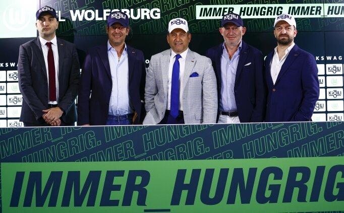 Wolfsburg'a Türk sponsor