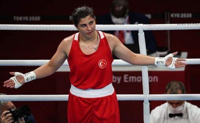 Busenaz boksta Olimpiyat madalyası hasretine son verdi