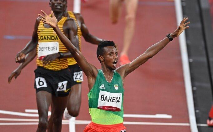 10.000 metrede Selemon Barega altın madalyaya ulaştı!