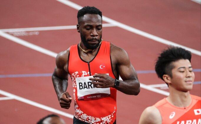 100 metrede Emre Zafer Barnes finale kalamadı!