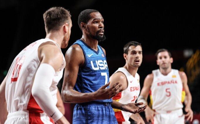 ABD, Durant ile İspanya'yı yıktı ve yarı finale çıktı!