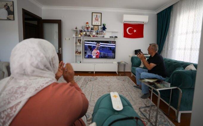 Ferhat Arıcan'ın ailesi 'olimpiyat madalyası' gururu yaşıyor